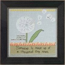 Dandelion Curly Girl 2014 Everyday Series cross stitch kit Mill Hill - $15.30