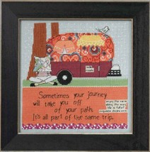 Off Your Path Curly Girl 2014 Everyday Series cross stitch kit Mill Hill - $15.30