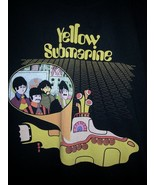 The Beatles Yellow Submarine Black T Shirt Size Medium  - $16.99