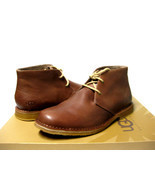 UGG LEIGTON MEN BOOTS LEATHER BRITISH TAN US 10 3E /UK 9 /EU 43 - $108.89