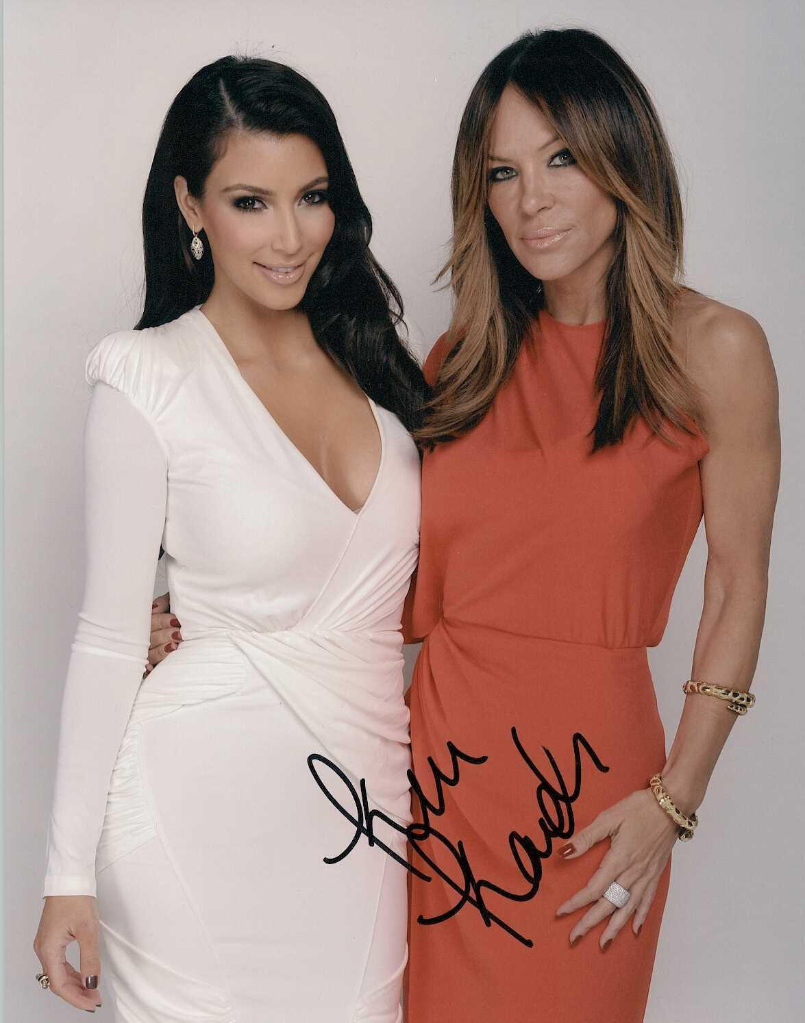 Primary image for Kim Kardashian Signed Autographed Glossy 8x10 Photo