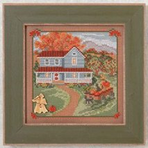 Harvest Home Autumn Series Mill Hill 2014 Button and Beads kit Mill Hill  - $11.70