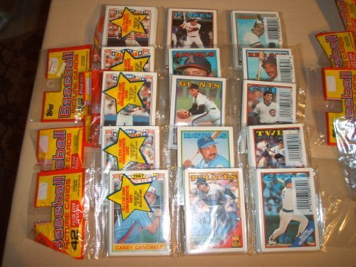 Primary image for Huge! 10,000 Old Baseball Cards All in Un-opened Packs! Amazing Case Lot. Inc...