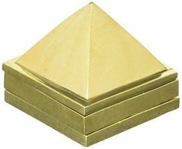 "3D 1"" X 1"" x 1"" ASHTADHATU MERU PYRAMID 3 PLATE 91 PIRAMIDS YANTRA VASTU... - $4.95"