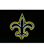 "NFL New Orleans Saints Football Beer Bar Neon Light Sign 15"" x 14"" - $125.10"