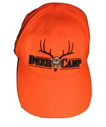 DEER CAMP CAP HAT 06 FLUORESCENT ORANGE HUNTING PARAMOUNT OUTDOORS ONE S... - $8.00