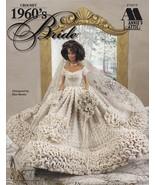 1960's Bride Crochet Jackie Kennedy Wedding Gown Elegant Feminine Stylis... - $14.80