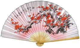 Purity Blossoms Chinese Wall Fans - $39.95