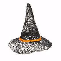 Darice Halloween Sinamay Witch Hat with Orange Band - 3 inches w - $4.99