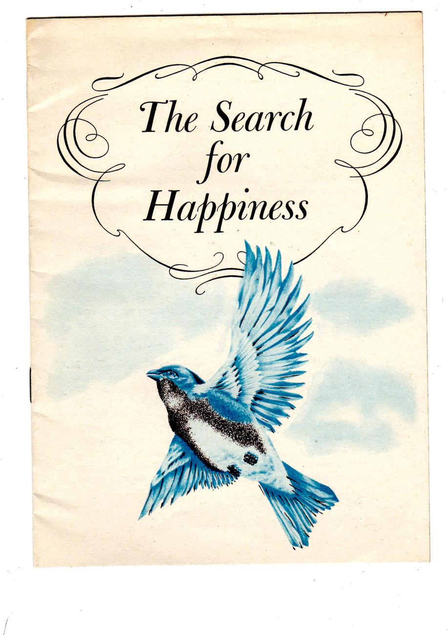 The Search For Happiness -Vintage 1954