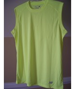 New Balance Safety Green Med N7117 Ndurance Athletic Workout T-Shirts - $9.99
