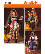 Simplicity 2331 Misses' Gypsy and Fortune Teller Costume Pattern 14-22 - $12.99