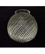 Clear Glass Bead Swirl 3 1/4 X 6 Ball Light Shade Globe Ceiling Fan - $21.95