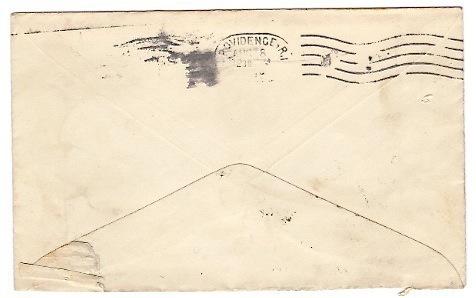 1899 Machiasport ME Vintage Postal Cover