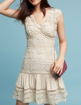 Anthropologie Tracy Reese Rocio Tiered Lace Dress $348 Sz 4 - NWT - $100.97