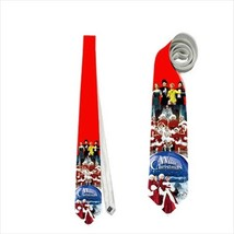 Necktie white christmas - $22.00