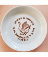 """Ristorante Al Campidoglio via Del Campidoglio  Firenze 4"""" x 3/4"""" Ceramic... - $15.95"""