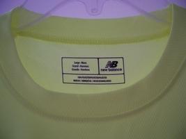New Balance Safety Green Large N7117 Ndurance Athletic Workout T-Shirt - $9.99
