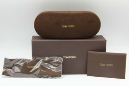 New Tom Ford Sunglasses Eyeglasses Optical Hard Small Brown Case Case - $47.69