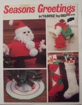 Season Greetings Stitching Craft Book [Unknown Binding] - $3.96