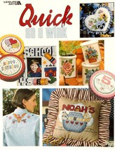 Leisure Arts ''Quick As A Wink'' Cross Stitch Book - $5.94