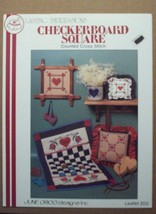 Lasting Impressions Checkerboard Square Counted Cross Stitch Craft Book ... - $3.95