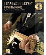 Hal Leonard Lennon & McCartney Guitar Play-Along Series Book with CD - $8.87