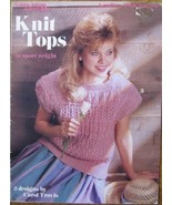 KNIT TOPS IN SPORT WEIGHT (Leaflet #746) Leisure Arts [Pamphlet] Carol T... - $1.87