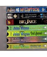 John Wayne (7 VHS Video Westerns) - $12.95
