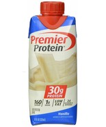 Premier Nutrition High Protein Shake Vanilla  11 oz.15 Count New open box - $31.53