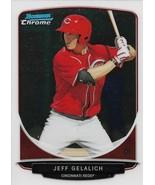 Jeff Gelalich Bowman Chrome 2013 #BCP15 Prospects Cincinnati Reds - $0.20
