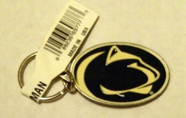 Penn State Nittany Lions Pewter Medallion Keychain Key chain University of - $2.60