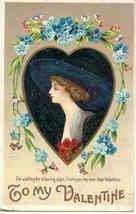 To My Valentine Ellen Clapsaddle Post Card - $7.00