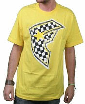 Famous Stars & Straps Yellow/Black Check It Checker BOH Badge of Honor T-Shirt S