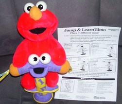 Fisher Price JUMP & LEARN ELMO Toy From 2000 - $24.96