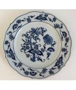 Vintage Blue Danube Salad Plate 8 3/4 Blue Onion Rectangle Mark Japan - $13.39