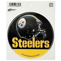 Pittsburgh Steelers Round Decal [Misc.] - $4.71