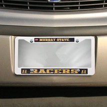 NCAA Murray State Racers Plastic License Plate ... - $4.70