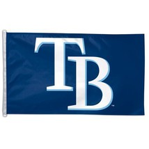 3 x 5 Feet Tampa Bay Rays Nylon - indoor MLB Flag Made in US. - $23.73