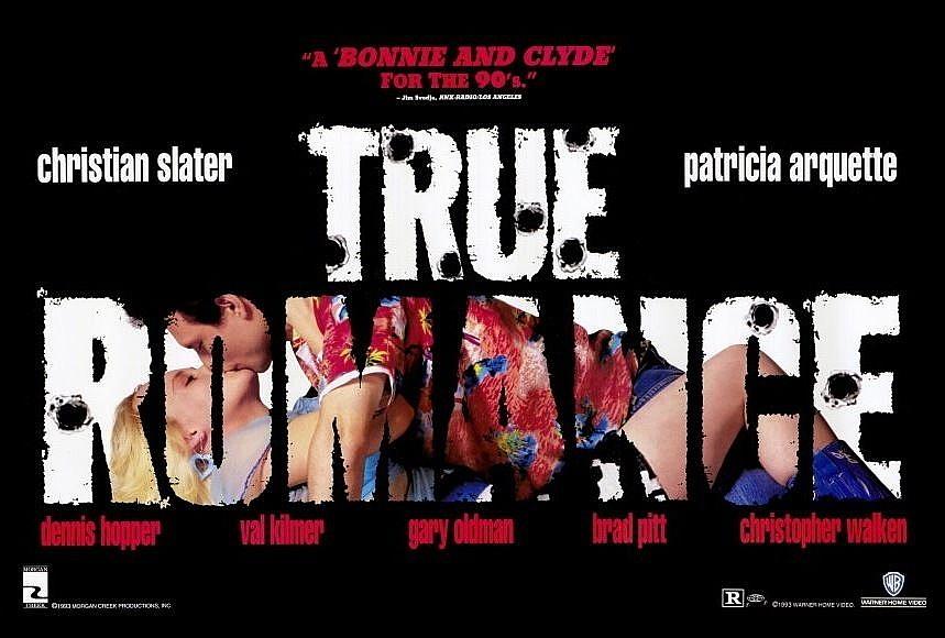 True romance poster horizontal 27x40