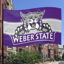 NCAA Weber State Wildcats Flag, 3 x 5-Feet [Sports] - $20.88