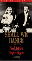 Shall We Dance - Fred Astaire & Ginger Rogers (VHS Video) - $7.00