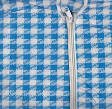 round Umbrella Tablecloth pink white gingham or... - $9.99