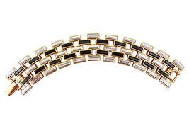 Napier Black Tie 1995 AD PIECE Runway Couture Bracelet - €139,79 EUR