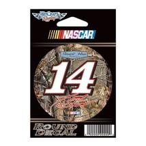 "Camo Tony Stewart Official NASCAR 3"" Diameter Vinyl Car Decal - $1.14"