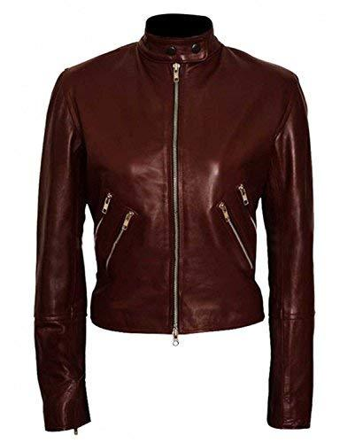 Cobie Smulders Jack Reacher Never Go Back Major Susan Turner Leather Jacket
