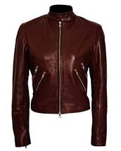 Cobie Smulders Jack Reacher Never Go Back Major Susan Turner Leather Jacket image 1