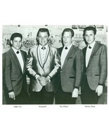 Photo ~ Stonewall Jackson, Eddie Fox, Ron Elliott, Harley Alsup ~ 8 x 10 ~  - $3.12