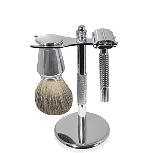 SCALPMASTER Chrome Shaving Set SB-SB19