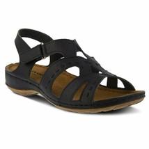 Flexus By Spring Step Women'S Sambai Sandal, Black, 37 Medium Eu (Us 6.5-7 Us) - $48.48